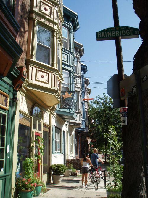 Philadelphia back streets